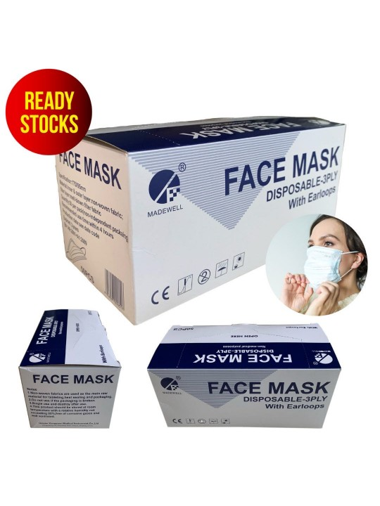 Disposable Face Mask 3-Ply