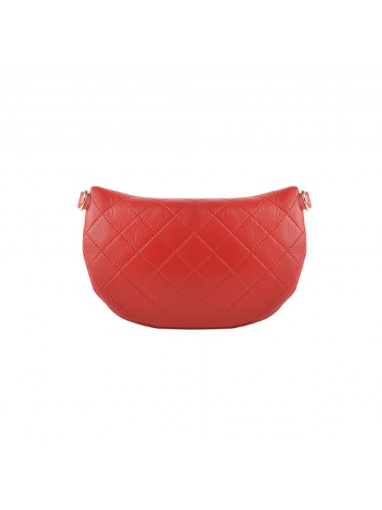 Small Demi-Lune Quilted Shoulder Bag
