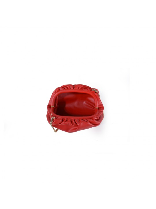 CLOUD SHAPE CLUTCH BAG